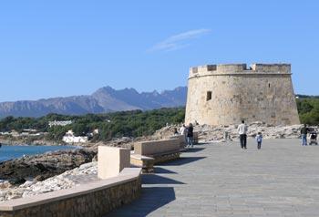 castillo de moraira spain